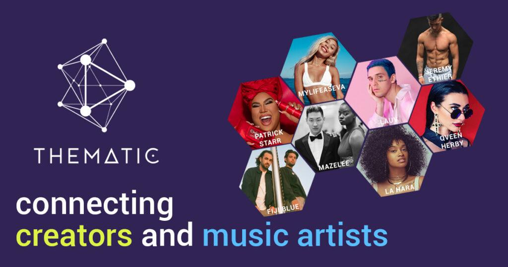 Thematic - Connecting Creators and Music Artists