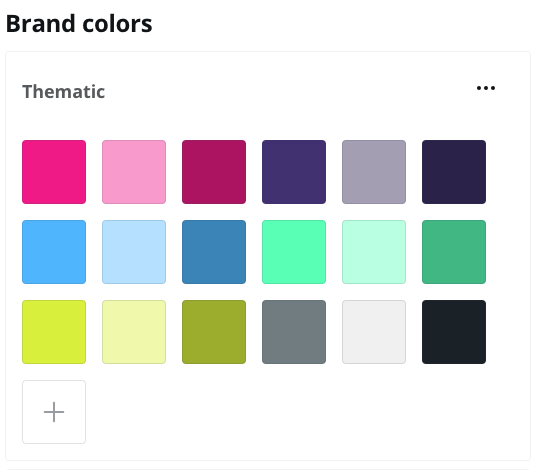 Canva – Set Your Brand Colors