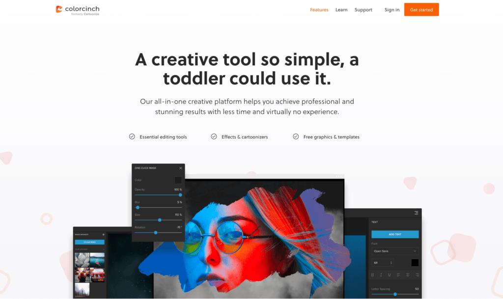 Colorcinch - Photo Editor and Cartoonizer